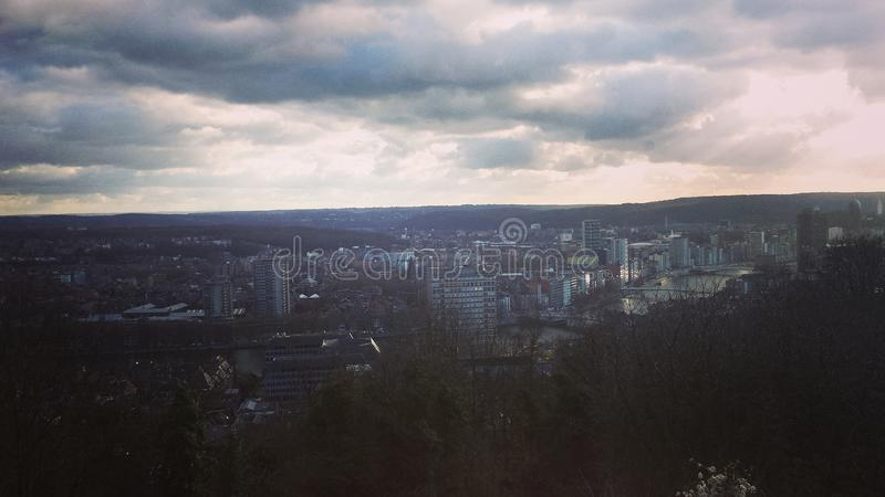 Città nel Belgio immagine stock libera da diritti