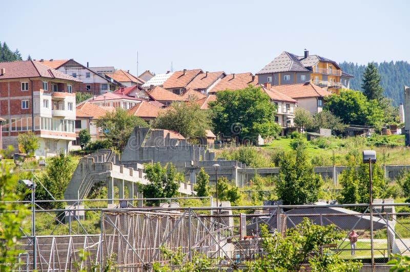 Città Nova Varos in Serbia ad ovest fotografie stock