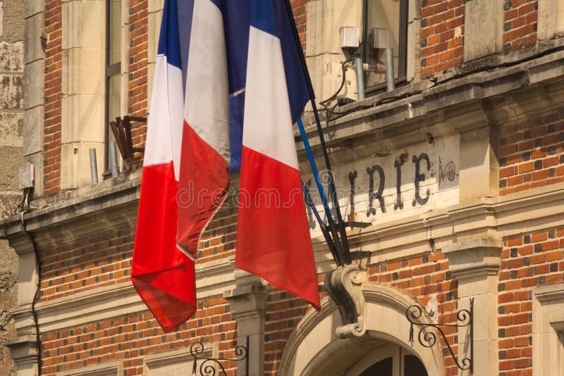 Città o comune francese immagini stock