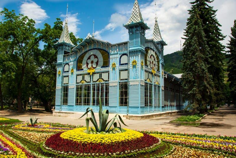 Città Pjatigorsk, il Caucaso del nord fotografia stock
