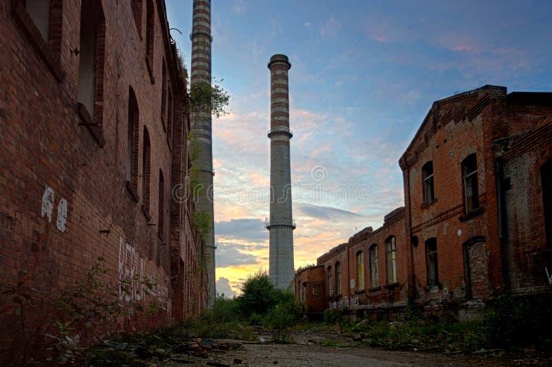 città Post-apocalittica fotografie stock