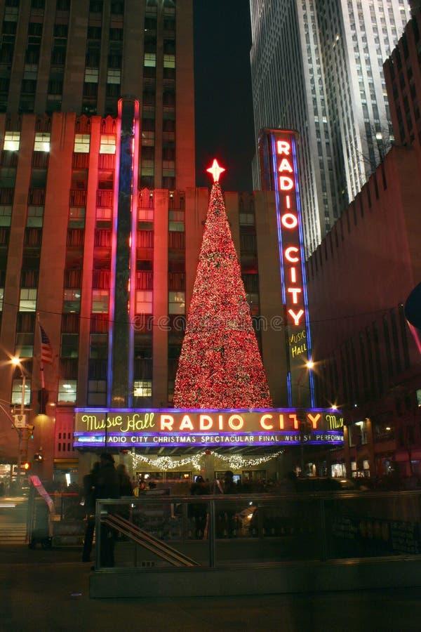 Città radiofonica, New York City fotografie stock libere da diritti