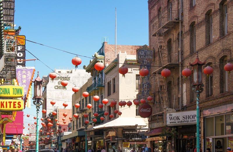 Città San Francisco della Cina fotografie stock
