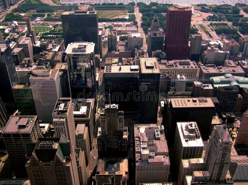 Città Scape #2 di Chicago fotografia stock libera da diritti