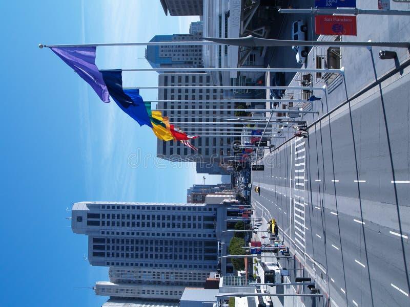 Città Scape di San Francisco immagini stock libere da diritti