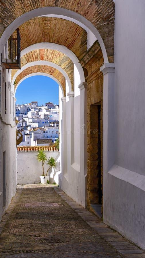 Città spagnola fotografia stock libera da diritti
