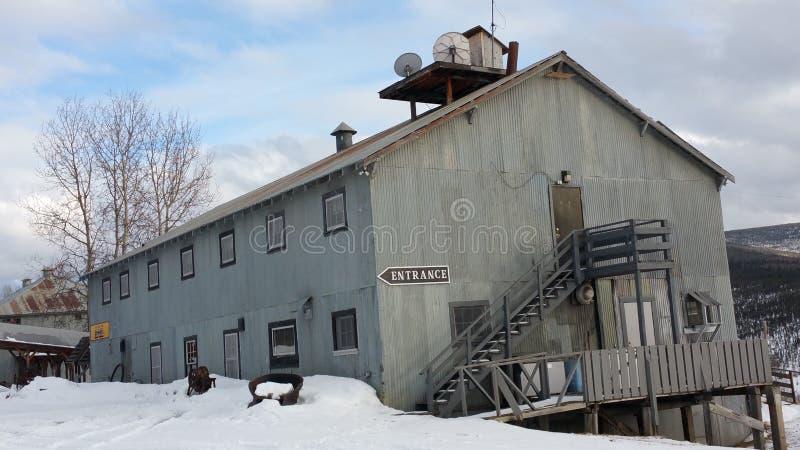 Città storica di estrazione mineraria fotografia stock