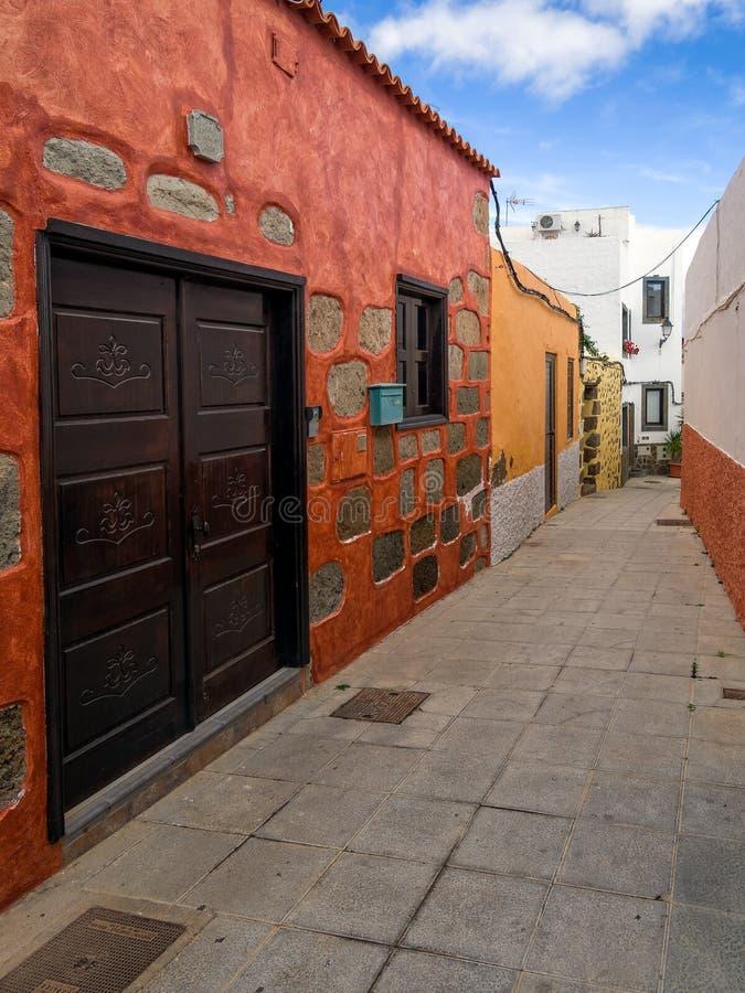 Città storica Gran Canaria Spagna di Aguimes fotografia stock libera da diritti