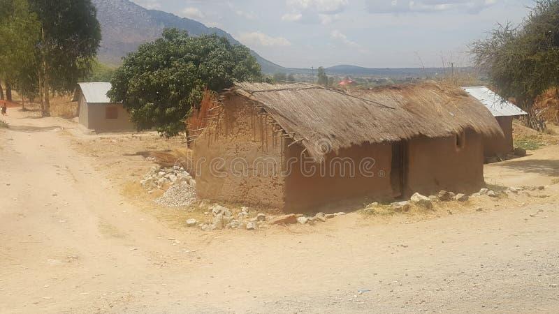Città Tanzania di Mbeya fotografia stock