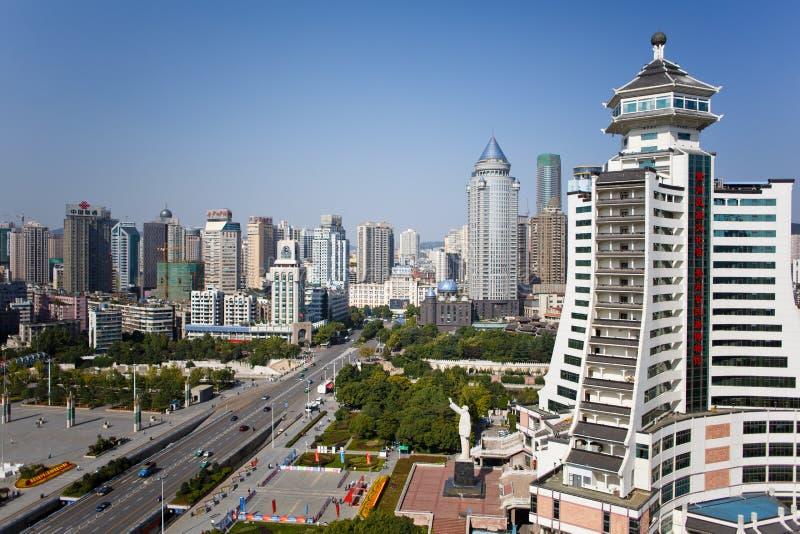 Città turistica cinese - paesaggio di Guiyang immagine stock libera da diritti