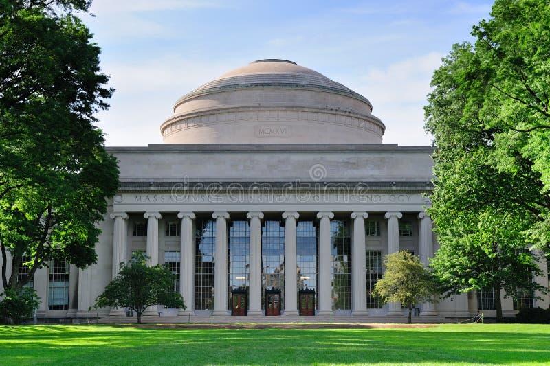 Città universitaria del MIT di Boston fotografie stock libere da diritti