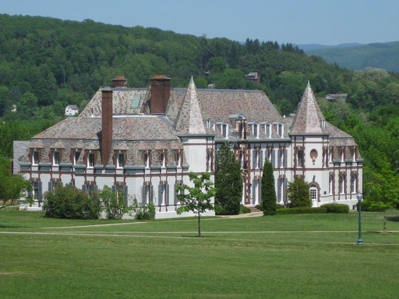 Città universitaria dell'istituto universitario di Middlebury fotografie stock