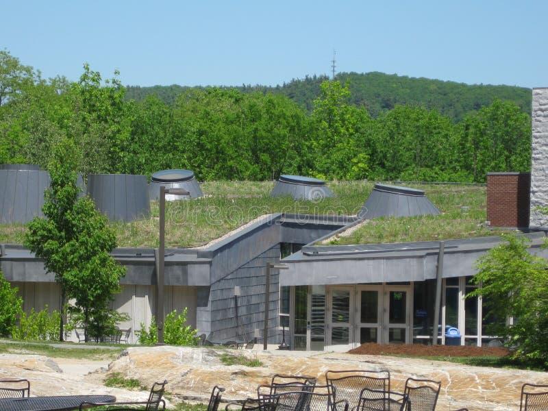 Città universitaria dell'istituto universitario di Middlebury fotografia stock libera da diritti