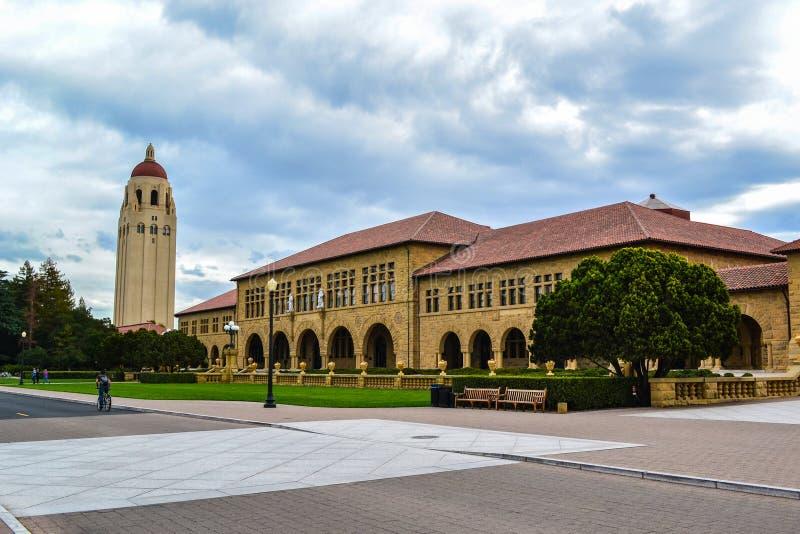 Città universitaria di Stanford University fotografia stock libera da diritti