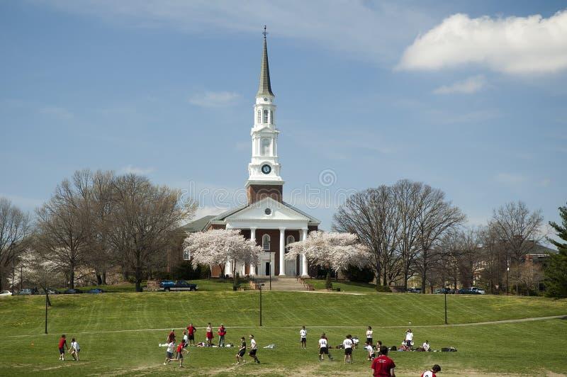 Città universitaria di università del Maryland immagini stock libere da diritti