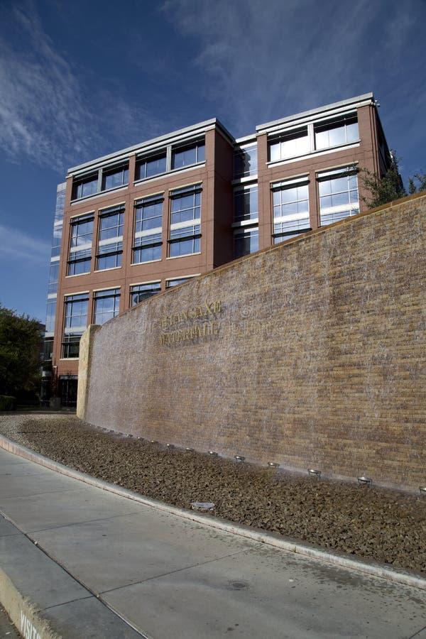 Città universitaria Fort Worth dell'istituto universitario della contea di Tarrant fotografia stock libera da diritti