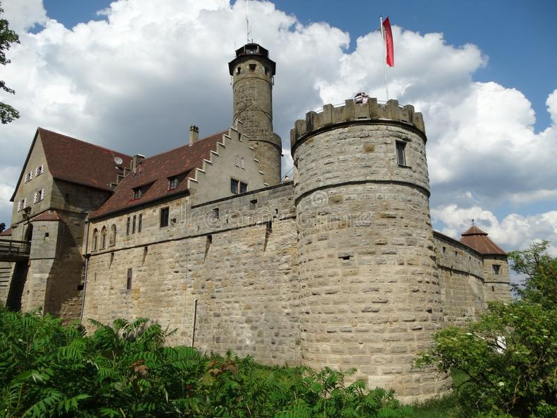 Città Vecchia Altenburg, Germania immagine stock libera da diritti