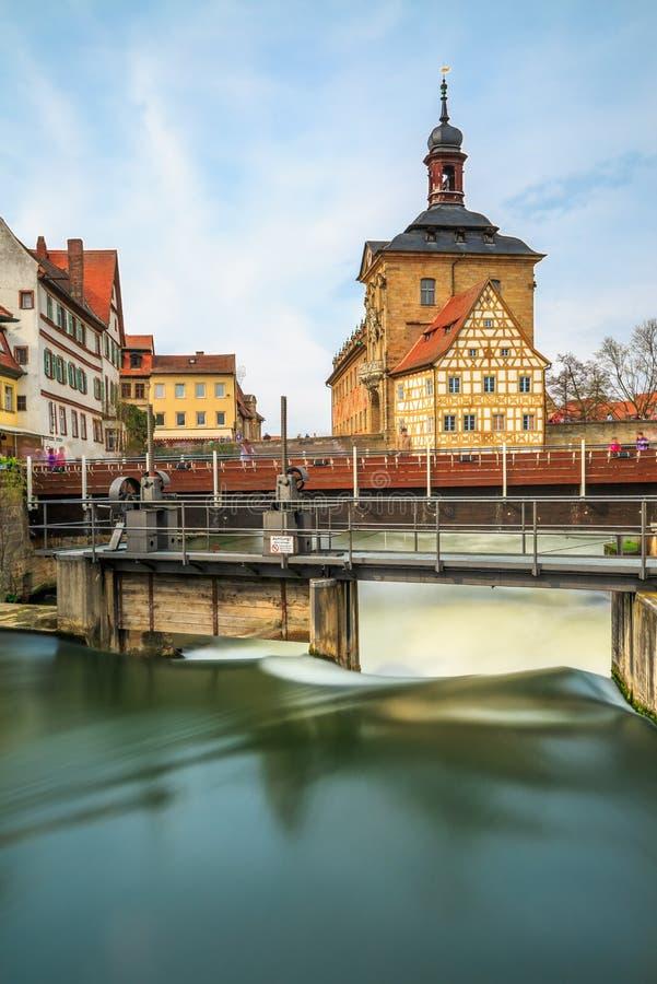 Città Vecchia Corridoio Bamberga Germania immagine stock libera da diritti