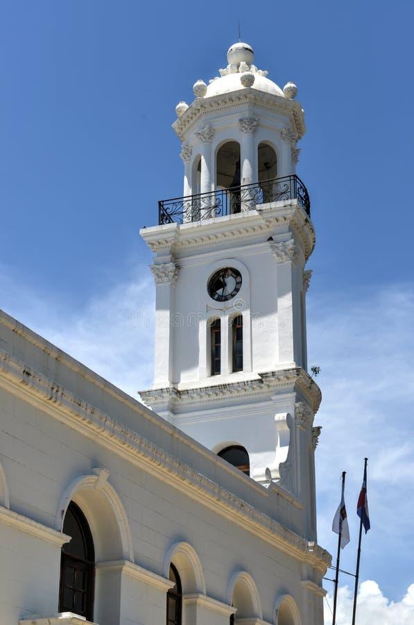 Città Vecchia Corridoio, Santo Domingo, Repubblica dominicana fotografia stock libera da diritti