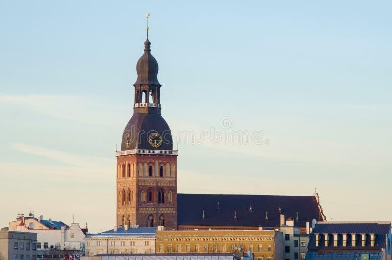 Città Vecchia di Riga (Lettonia) fotografia stock libera da diritti