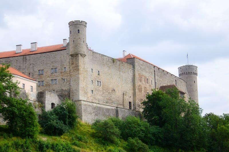 Città Vecchia di Tallinn fotografie stock libere da diritti