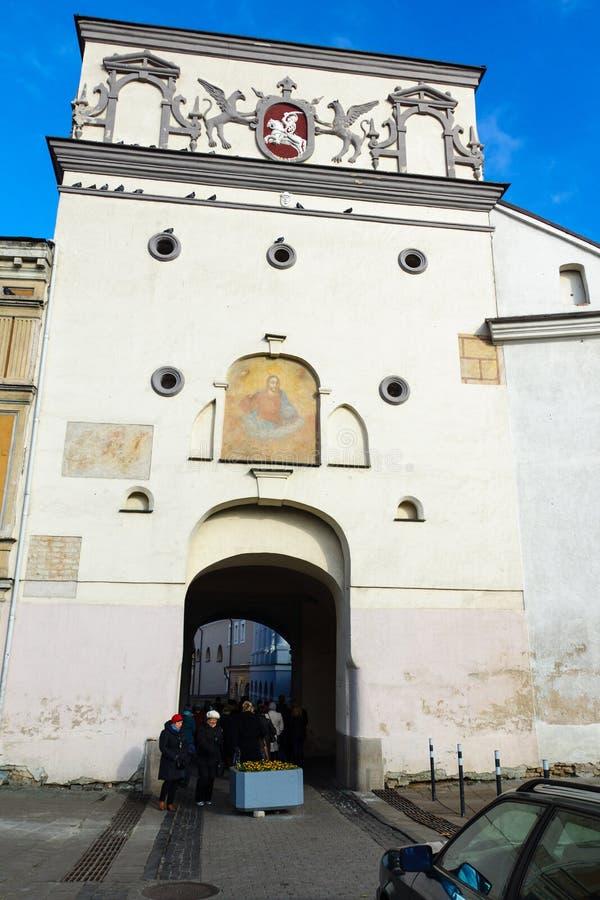 Città Vecchia di Vilnius immagine stock