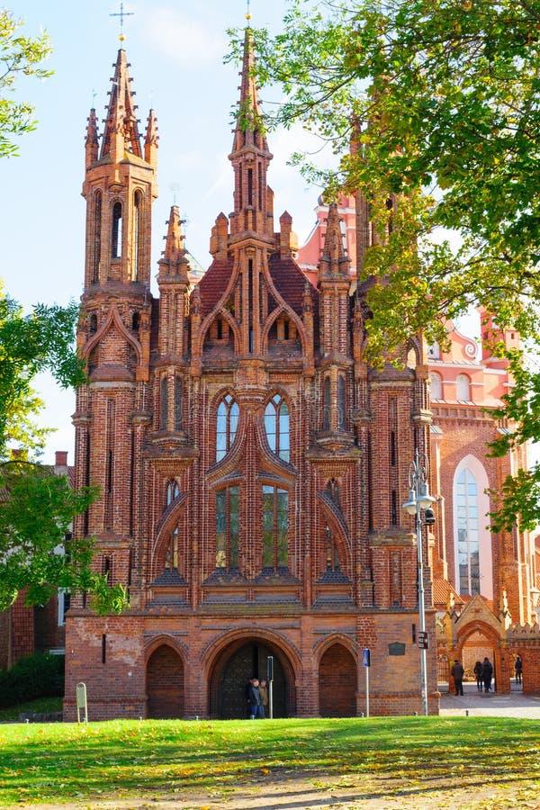 Città Vecchia di Vilnius fotografia stock libera da diritti
