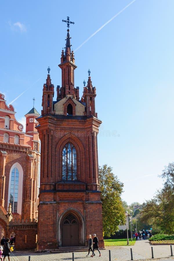 Città Vecchia di Vilnius fotografie stock libere da diritti
