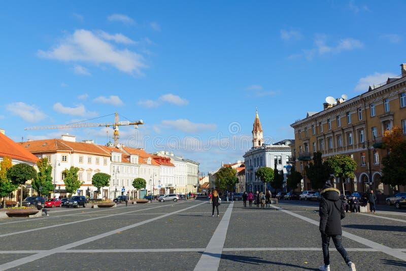 Città Vecchia di Vilnius immagine stock libera da diritti
