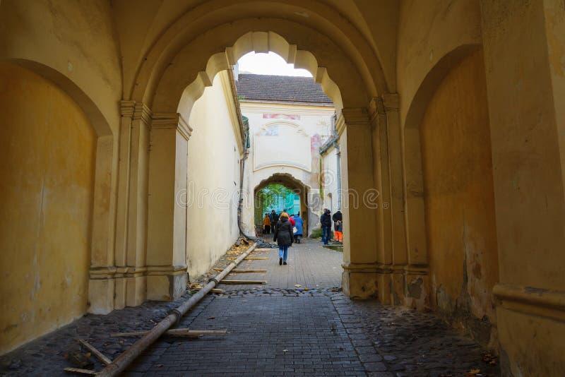 Città Vecchia di Vilnius immagini stock libere da diritti