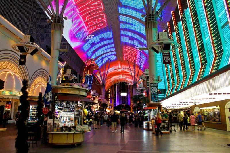 Città Vecchia Las Vegas, NV immagine stock libera da diritti
