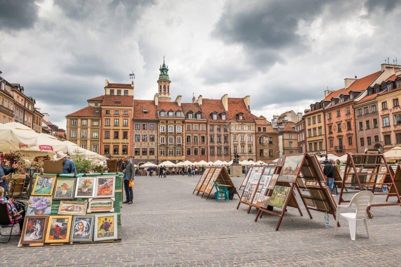 Città Vecchia Market Place fotografia stock