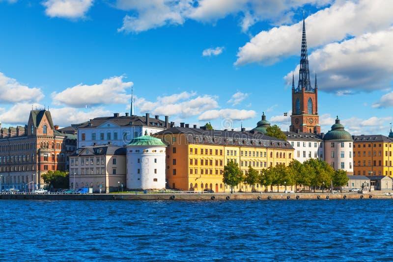 Città Vecchia a Stoccolma, Svezia fotografie stock
