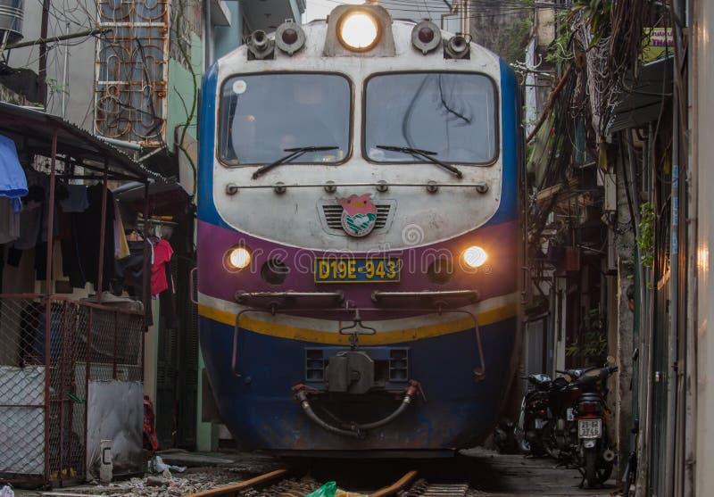 Città Vecchia stupefacente di Hanoi, Vietnam fotografie stock libere da diritti