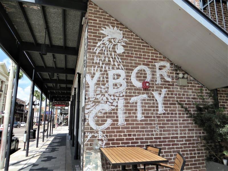 Citt? di Ybor, Tampa, Florida fotografie stock