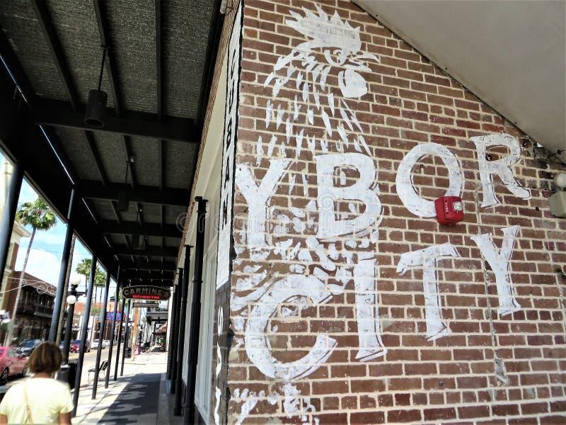 Citt? di Ybor, Tampa, Florida fotografie stock libere da diritti