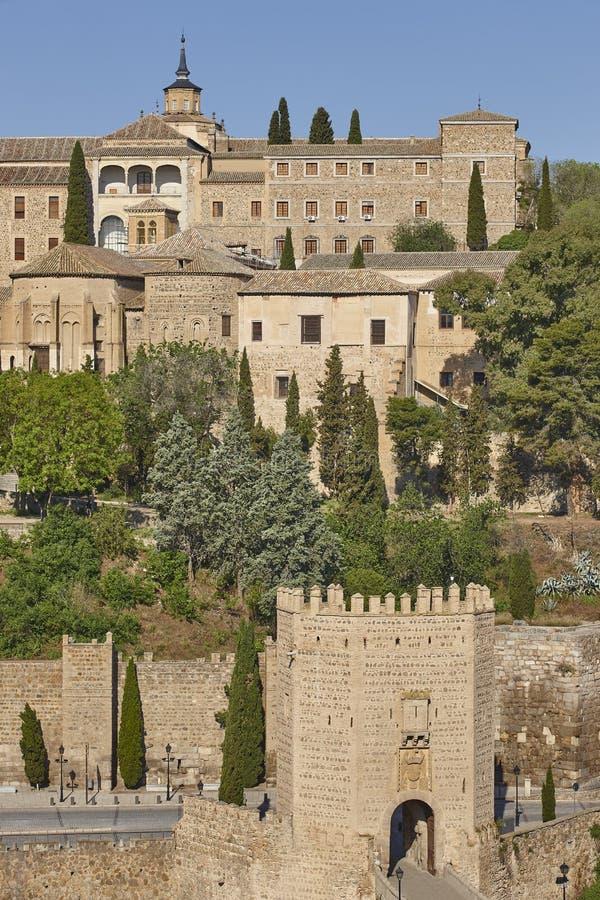 Citt? medioevale di Toledo Patrimonio mondiale dell'Unesco Eredit? spagnola fotografia stock libera da diritti