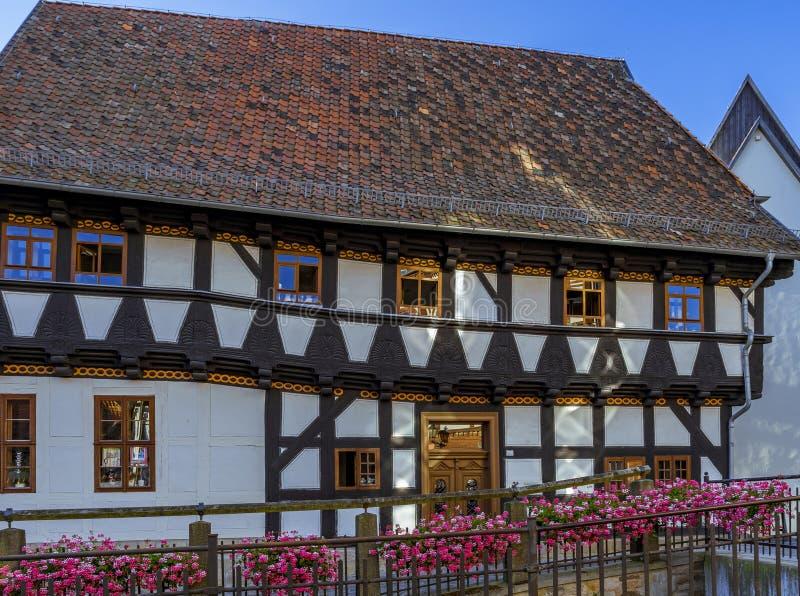 Citt? storica Quedlinburg, Germania immagini stock