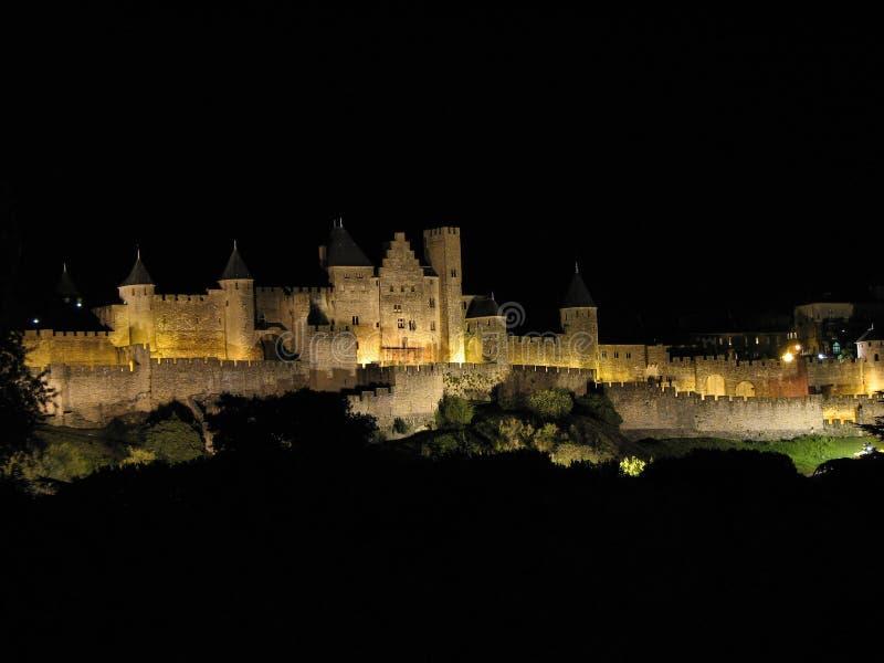 Cittadella di Carcassonne, Languedoc france immagine stock