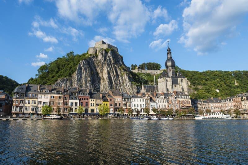 Download Cittadella Fortificata In Dinant, Belgio Fotografia Editoriale - Immagine di urbano, cityscape: 55356812