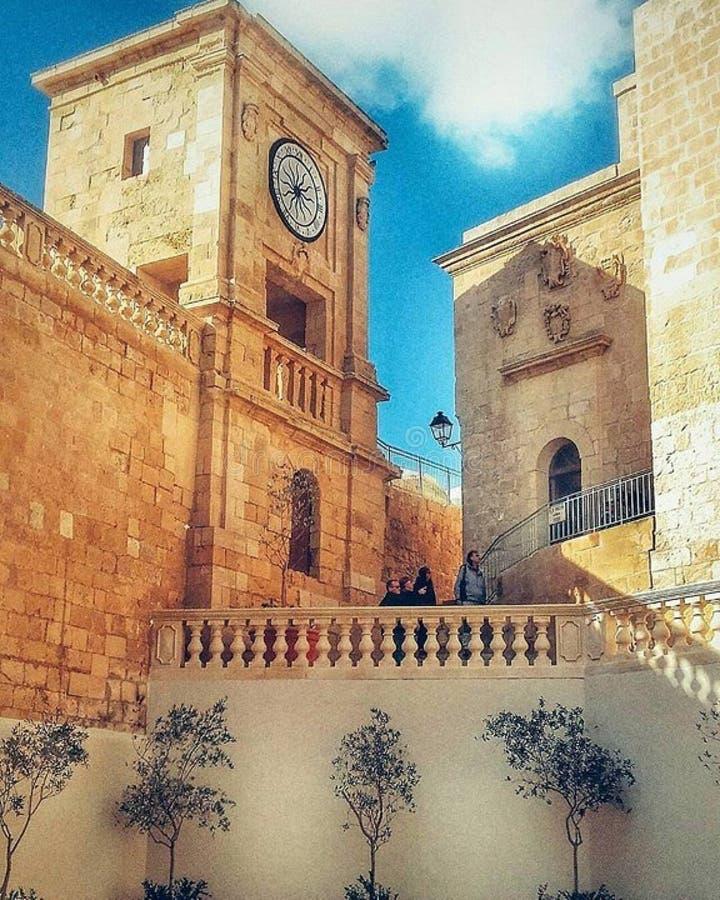 Cittadella Gozo fotografia de stock royalty free