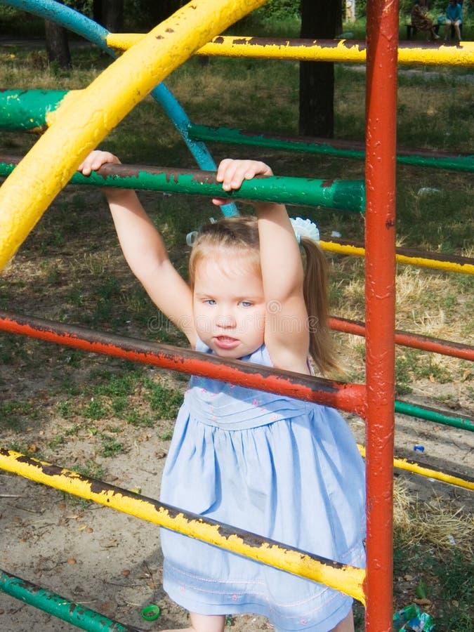 Cittadina dei bambini fotografia stock