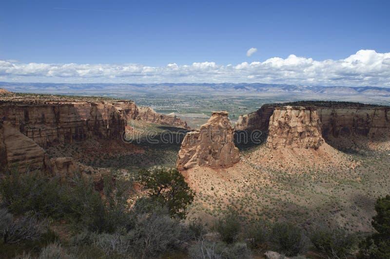 Cittadino Monumnet del Colorado fotografia stock libera da diritti