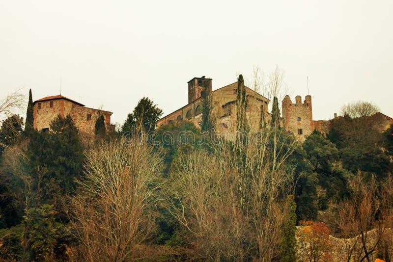 City of bassano del grappa stock photo