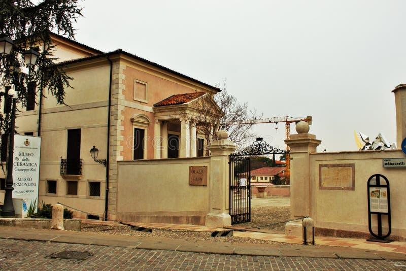 City of bassano del grappa royalty free stock photos