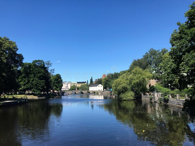 City of Örebro 11 stock photo