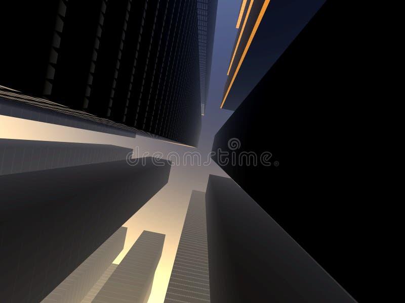 City 14 stock illustration