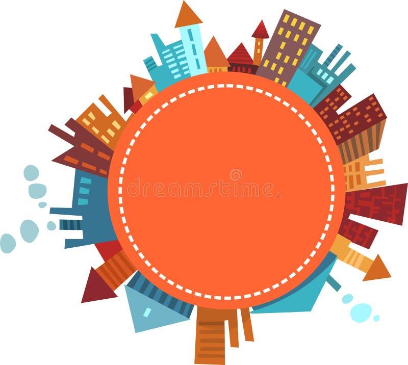 City stock illustration