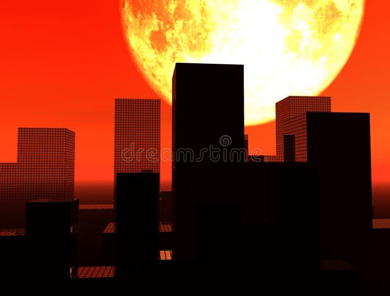 Download The City 16 stock illustration. Illustration of modern - 605484