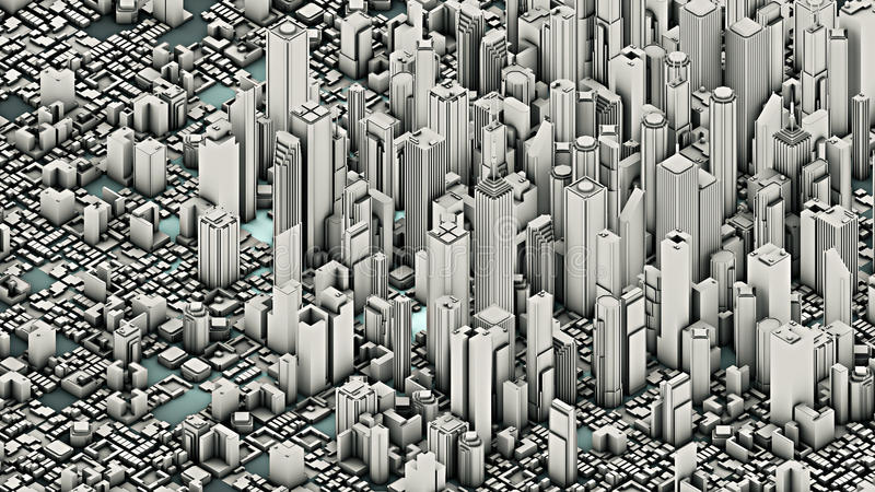 Download City stock illustration. Image of skyscraper, urban, cityscape - 26107937